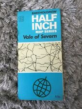 1973 Bartholomew Half Inch Map Series Sheet 18 - Vale Of Severn (Incl Worcester)