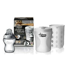 New Tommee Tippee Baby Bottle Compact Travel Single Steriliser