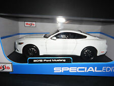 Maisto Ford Mustang GT 2015 White 1/18