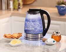 Hamilton Beach 40865 Glass Electric Kettle, 1.7-Liter