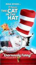 Dr. Seuss' The Cat in the Hat (VHS, 2004, Paper Case Packaging Edition)