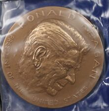 US Mint Ronald Reagan Presidential High Relief Bronze Inaugural Medal