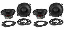 "(4) New! MB Quart DK1-113 5.25"" 100w 2-Way Car Speakers/Aluminum Dome Tweeter"