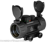 """UTG New Gen 4"""" Red/Green Dot Sight with Integral Picatinny Mounting Deck"""