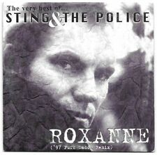 Sting - Roxanne (97 Puff Daddy remix) CD Single Promo Mexico Rare !  The Police