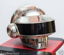 Daft Punk Helmet Thomas NEW Metall-Chrome cover