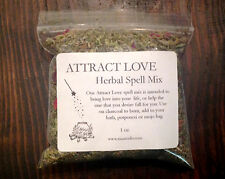 ATTRACT LOVE Spell Mix Wicca Ritual Attraction Herbs Witch Mojo Bag Incense