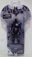 "DEATHSTROKE DC Collectibles Batman Arkham Origins 8"" inch Figure Series 2 2014"