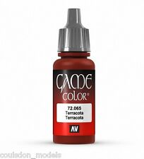 Vallejo Game Color 72.065 Terracotta, 17ml Acrylic Fantasy / Wargaming Paint