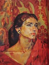 MARIA CALLAS THE DIVA TIME MAGAZINE OCTOBER 29 1956 COVER ILLUSTRATION PHOTO