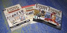 Empire Earth Gold  inkl. Zeitalter der Eroberungen PC Spiel + Lösungsbuch Riesig