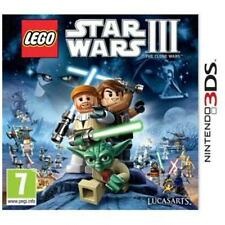 ~ LEGO STAR WARS III THE CLONE WARS 3 ~ NINTENDO GAME 3DS ~ 2DS ~ WITH MANUAL ~