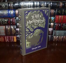 To Kill A Mockingbird by Harper Lee New Sealed Leatherbound Collectible