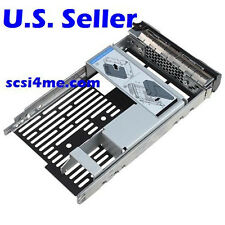 "Hybrid Drive Carrier 3.5"" tray 2.5"" adapter Dell 9W8C4 F238F R730 R720 R530 T630"