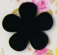 "60 Basic Solid Felt Flower 1.5"" Applique/bow/trim/Sewing/Daisy L58-Select Color"