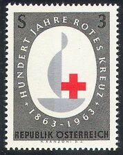 Austria 1963 Red Cross/Centenary/Candle/100 yrs Anniversary 1v (n20391)
