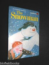 The Snowman by Raymond Briggs 1988-1st, Classic Children's Xmas Fantasy Tale