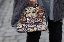Zara in tessuto mini City Bag nuova con etichetta