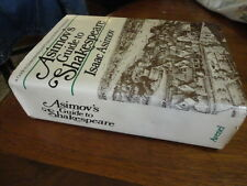 Isaac ASIMOV'S GUIDE TO SHAKESPEARE COMPLETE 2 in 1 vol. GUC hardback dustjacket