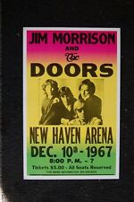The Doors 1967 Color Poster New Haven