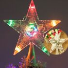 Colorful Changing Xmas Christmas Tree Topper Star Light LED Lamp Decoration NEW