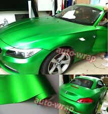 Optional New Satin Matte Metallic Chrome Vinyl Entire Car Wrap Sticker Film AB