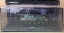 DIE CAST TANK SU-122 BRYANSK FRONT - KURSK SOVIET UNION 1943  1/72