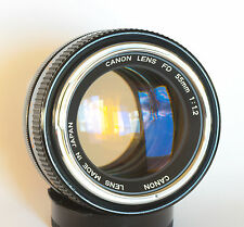 Canon FD 55mm 1.2 Chrome Nose