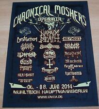 Chronical Moshers Open Air 2014  - Promotion Flyer - Mühlteich / GER