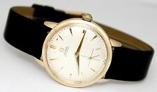 Vintage Omega Automatic Gold Filled Silver Dial 32mm Circa 1960s Watch