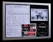 ONE DIRECTION Best Song Ever LTD QUALITY CD FRAMED DISPLAY+EXPRESS GLOBAL SHIP!!