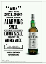 "Laphroaig ""Lauren Becall"" poster 18 by 26"