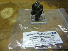 AA GRADE 43 GM SIKHOTE-ALIN  METEORITE FROM RUSSIA ! WITH STAND