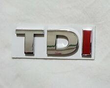 TDI Auto Rear Emblem Decal Badge For Audi VW Passat Jetta Bora Golf Car Boot