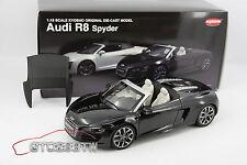 Kyosho 1:18 scale Audi R8 Spyder 5.2 FSI Quattro 2010(Phantom Black) *LAST PCS*