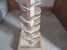 Plain wooden  Musical Marble Tree