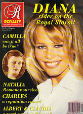 CLAUDIA SCHIFFER UK Royalty Monthly Magazine 1993 ROYAL MATCH