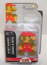 World of Nintendo 8-BIT MARIO Action Figure SEALED Jakks Pacific 2.5 Inch 1-6