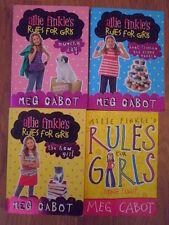 """4 books Allie finkles rule for girls """" by Meg Cabot (Paperback, )"""