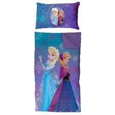 Disney Frozen Slumber Bag and Pillow Set Sleeping Bag