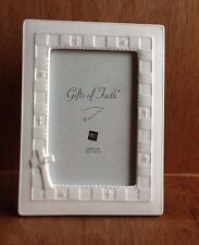 Russ Gifts of Faith Confirmation ceramic picture frame Cross Christianity