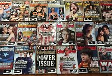 ENTERTAINMENT WEEKLY magazines 2001 (collection of 19) Oscars Harry Potter CSI