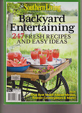 SOUTHERN LIVING MAGAZINE 2013, SPECIAL COLLECTOR'S ISSUE BACKYARD ENTERTAINING.