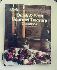 QUICK & EASY GOURMET TREASURY COOKBOOK by NAOMI ARBIT and JUNE TURNER 1979 HC/DJ