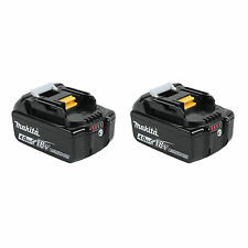 Makita 2pk 18V LXT 4.0AH Lithium-Ion Battery BL1840B-2 New WITH LED GUAGE!!