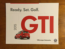 2015 GTI Volkswagen Accesories catalog, sales brochure