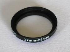 STEP UP ADAPTER 27MM-28MM STEPPING RING 27MM TO 28MM 27-28 FILTER ADAPTOR