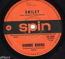 RONNIE BURNS Smiley / Jodie  *AUSTRALIA ORIGINAL BEE GEES SPIN LABEL SINGLE *