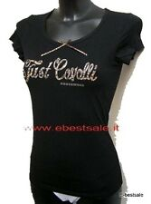 Just Cavalli T-shirt 100% Authentique noir Tailles S M L XL