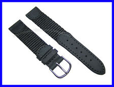 17mm Leather Nylon Watch Band Strap for Original SMALL 24240 24241 24379  24383